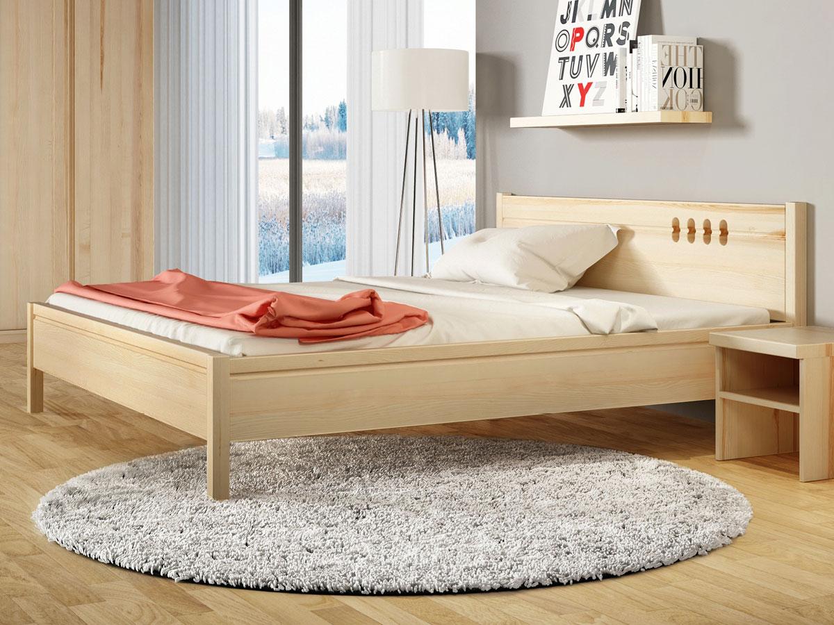 """Schlafzimmer mit Eschenbett """"Anna"""""""