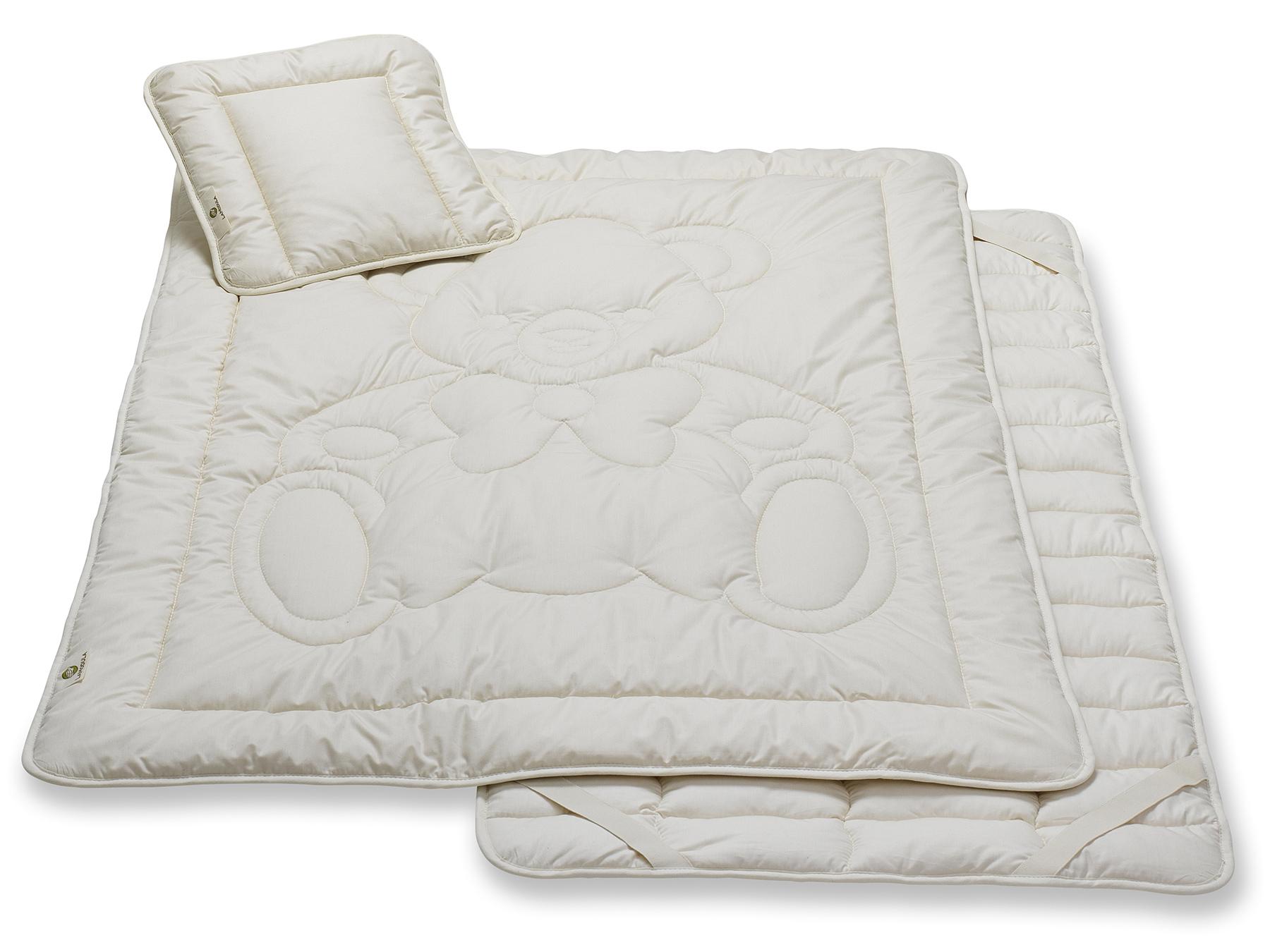 Wohlfühlen von Anfang an: natürliche Bettwaren für unsere kleinen Lieblinge.