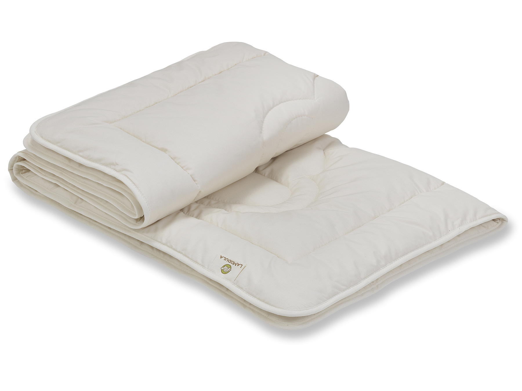 Sie haben die Wahl: leichte Sommerdecke oder Duo-Bettdecke für die kühlere Jahreszeit.