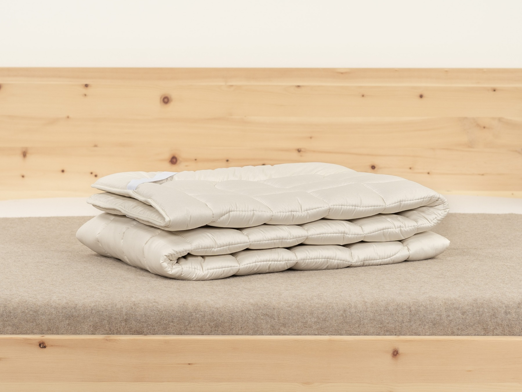 Unser Matratzenschoner Baumwolle Plus bietet hohen Liegekomfort.