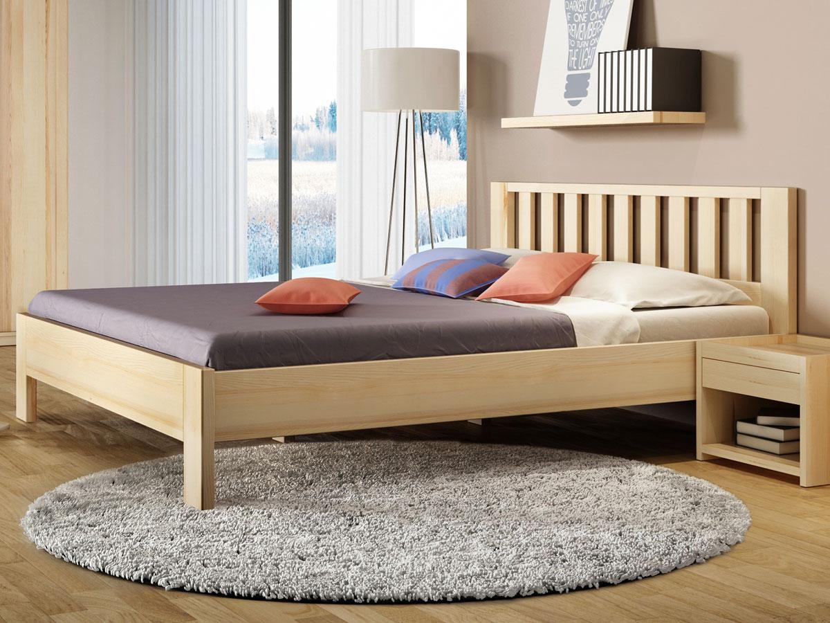 """Schlafzimmer mit Eschenbett """"Bernhard"""""""
