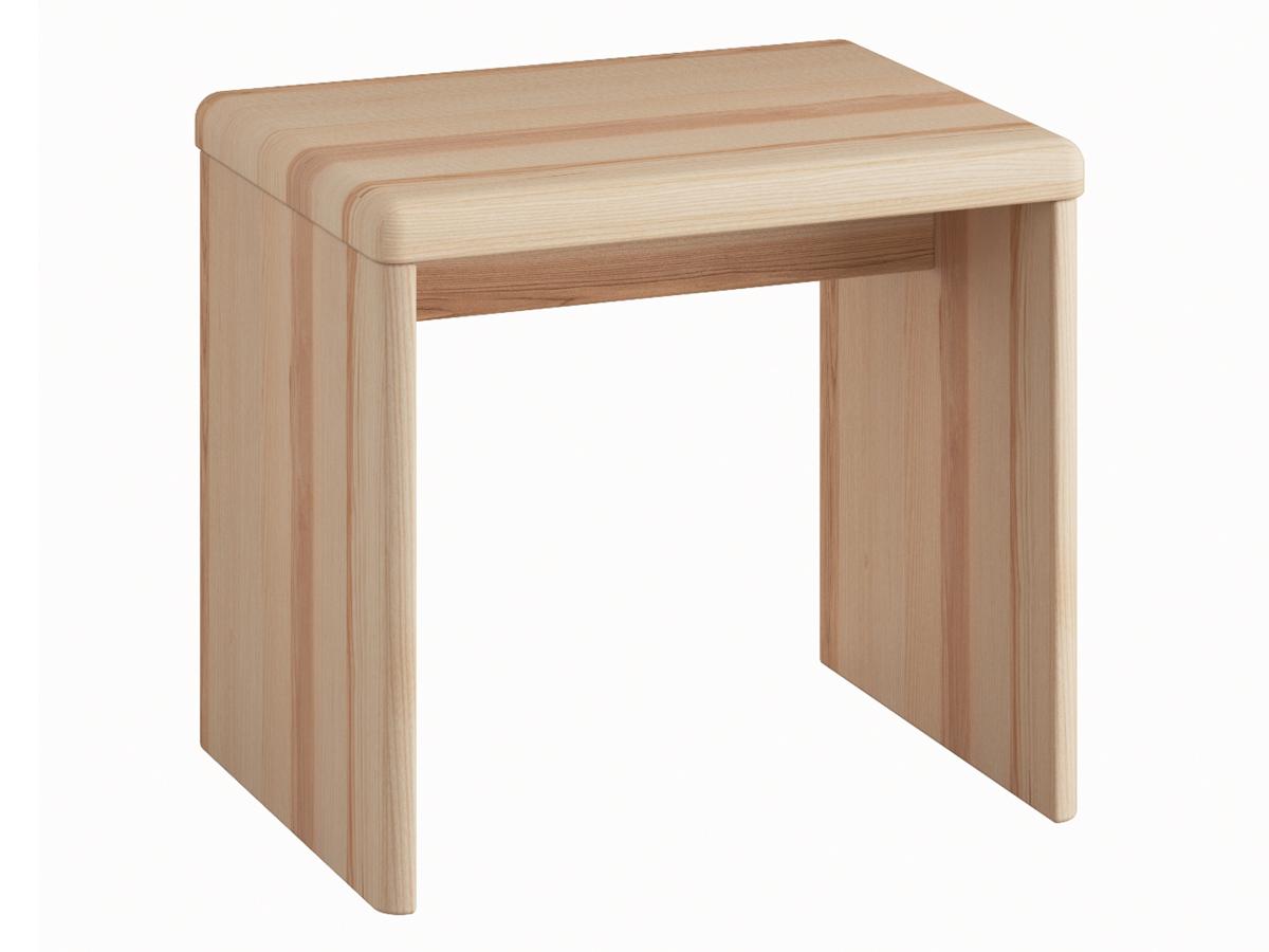 """Nachttisch aus Esche """"Doris"""" in Komforthöhe ohne Schublade"""