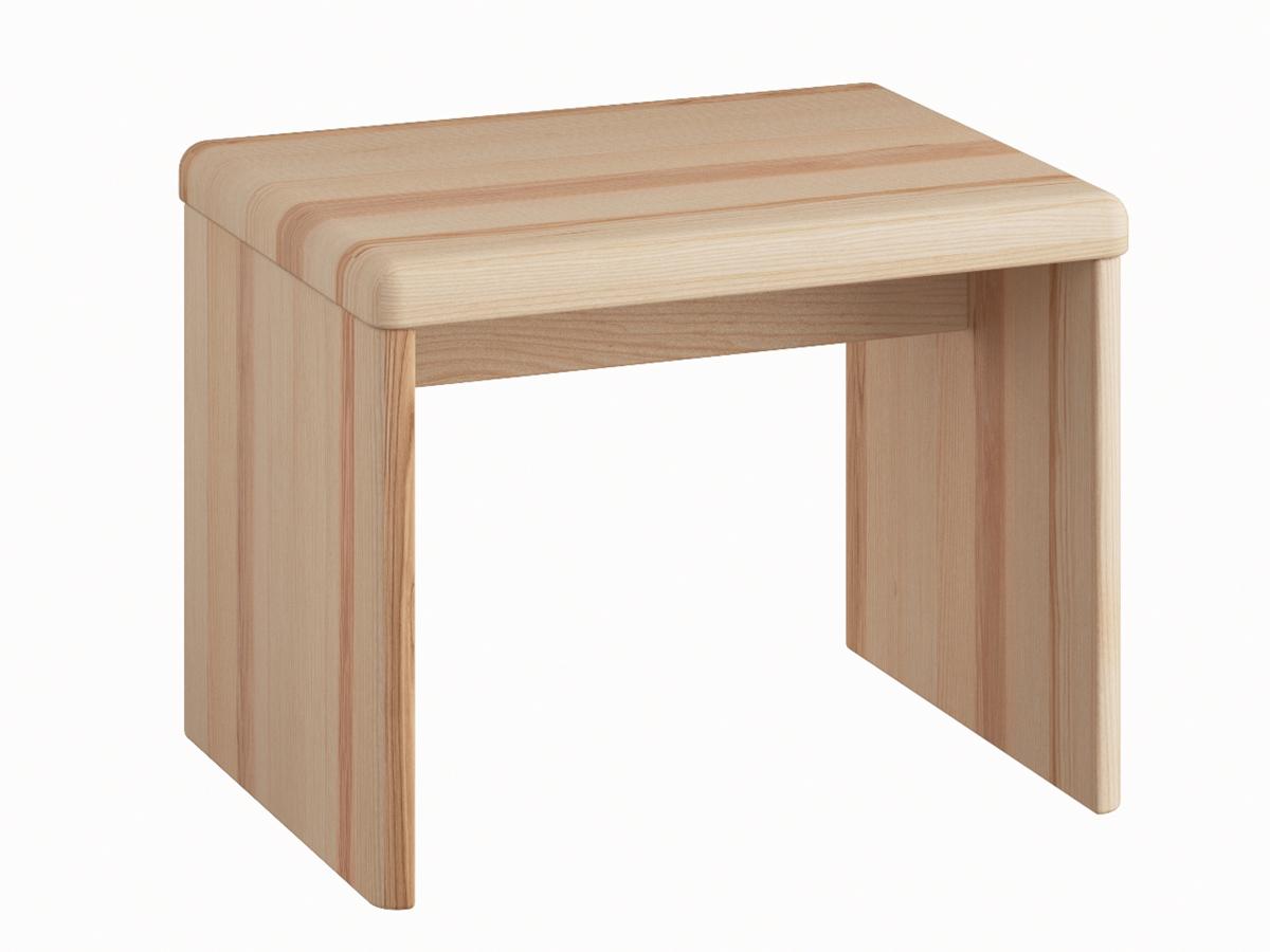 """Nachttisch aus Esche """"Doris"""" in Standardhöhe ohne Schublade"""