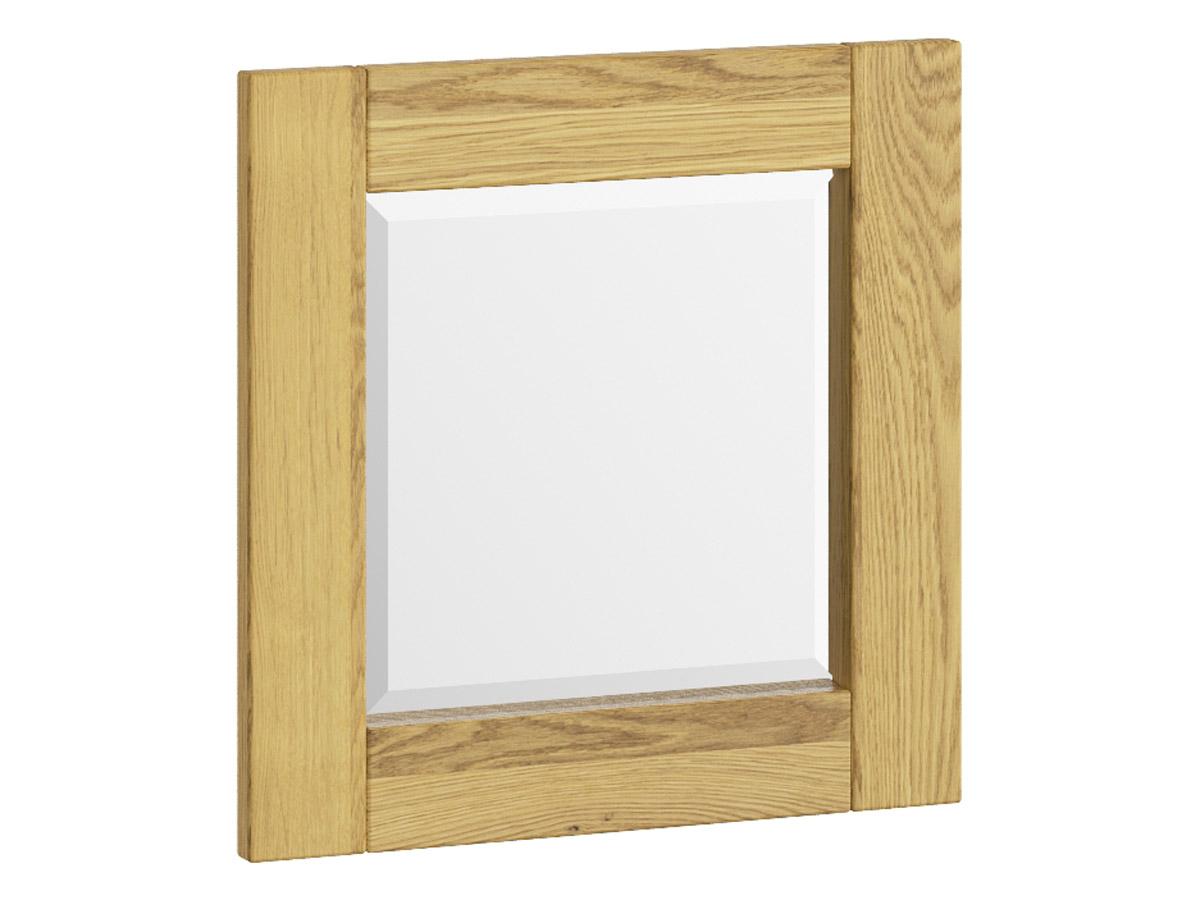 """Eichenwandspiegel """"Sabrina"""" 50 x 50 cm"""