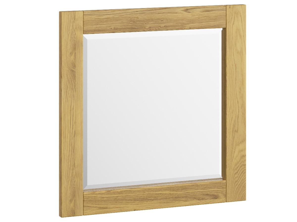 """Eichenwandspiegel """"Sabrina"""" 70 x 70 cm"""