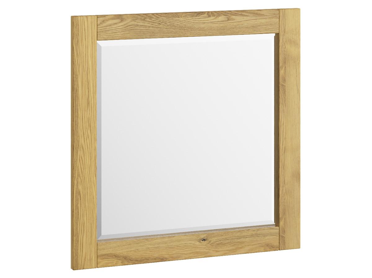"""Eichenwandspiegel """"Sabrina"""" 80 x 80 cm"""