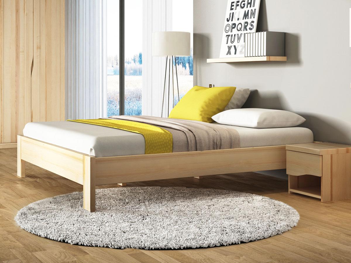 """Schlafzimmer mit Bett aus Esche """"Frida"""""""