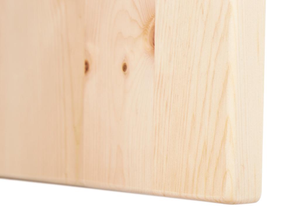 Bild aus massivem Zirbenholz