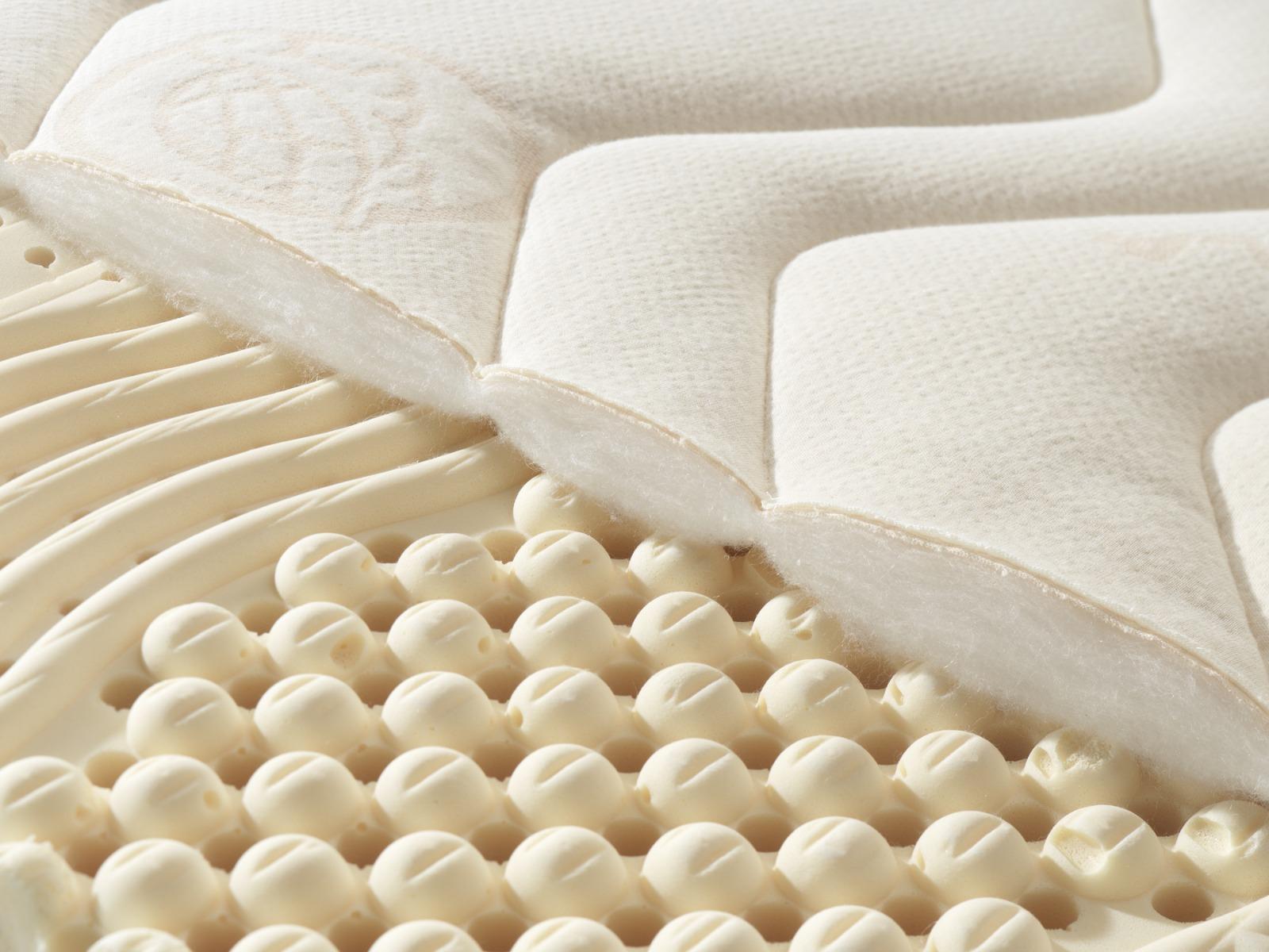 Detail des Bezuges aus TENCEL™ Faser/ Mais