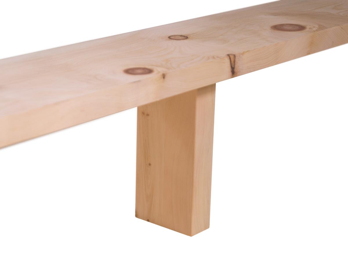 Eine der beiden Mittelstützen – für optimale Stabilität (ab einer Bettbreite von 140 cm)