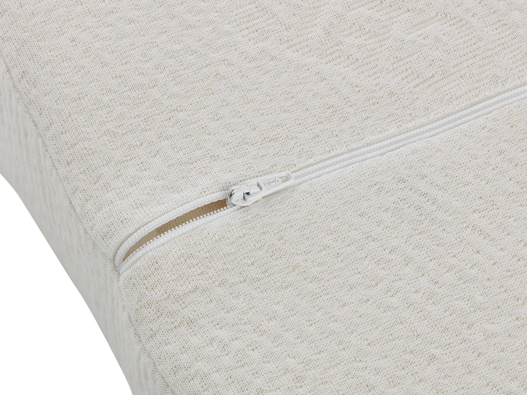 Den Bezug wählen Sie selbst: Baumwoll-Frottee oder TENCEL™ Faser.