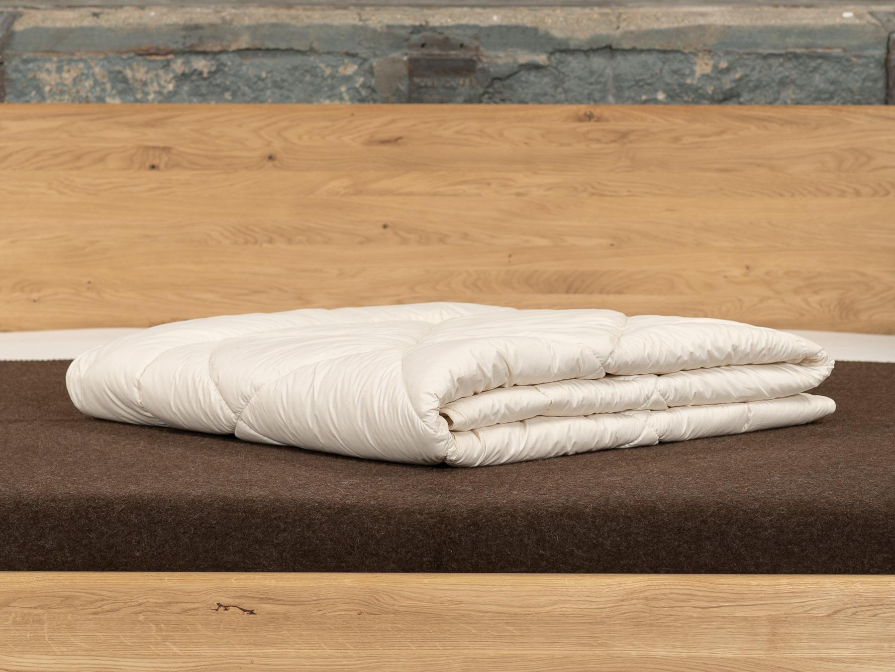 Leichte Bettdecke für warme Sommernächte oder bei geringem Wärmebedürfnis.
