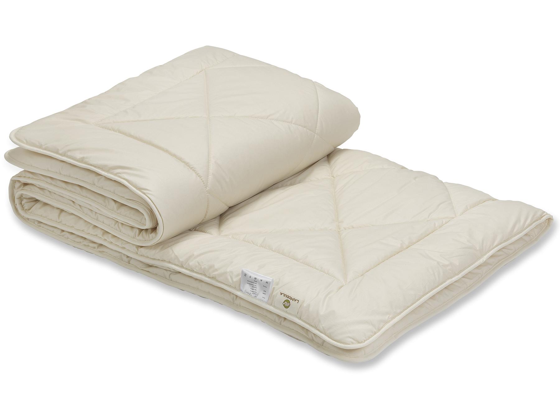 Bei unserer Schurwolldecke Duo sind zwei leichte Decken miteinander versteppt.
