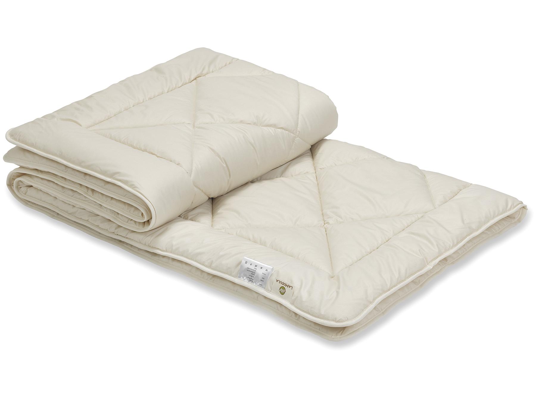 Schurwolle sorgt für ein trocken-warmes Schlafklima.