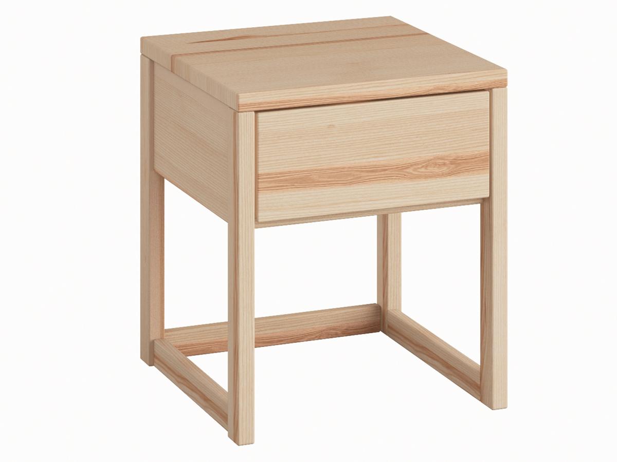 """Nachttisch aus Esche """"Selina"""" in Komforthöhe"""