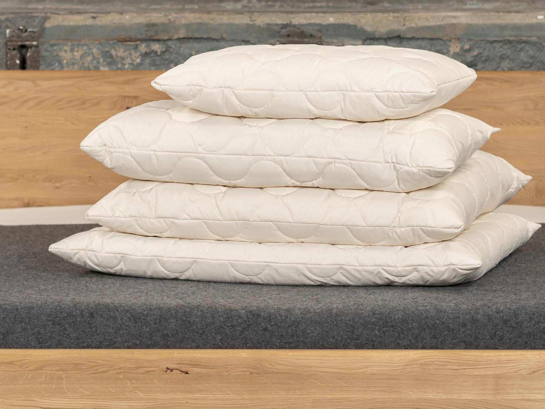 Mit TENCEL™ Faser Kissen bewahren Sie stets einen kühlen Kopf in warmen Nächten.