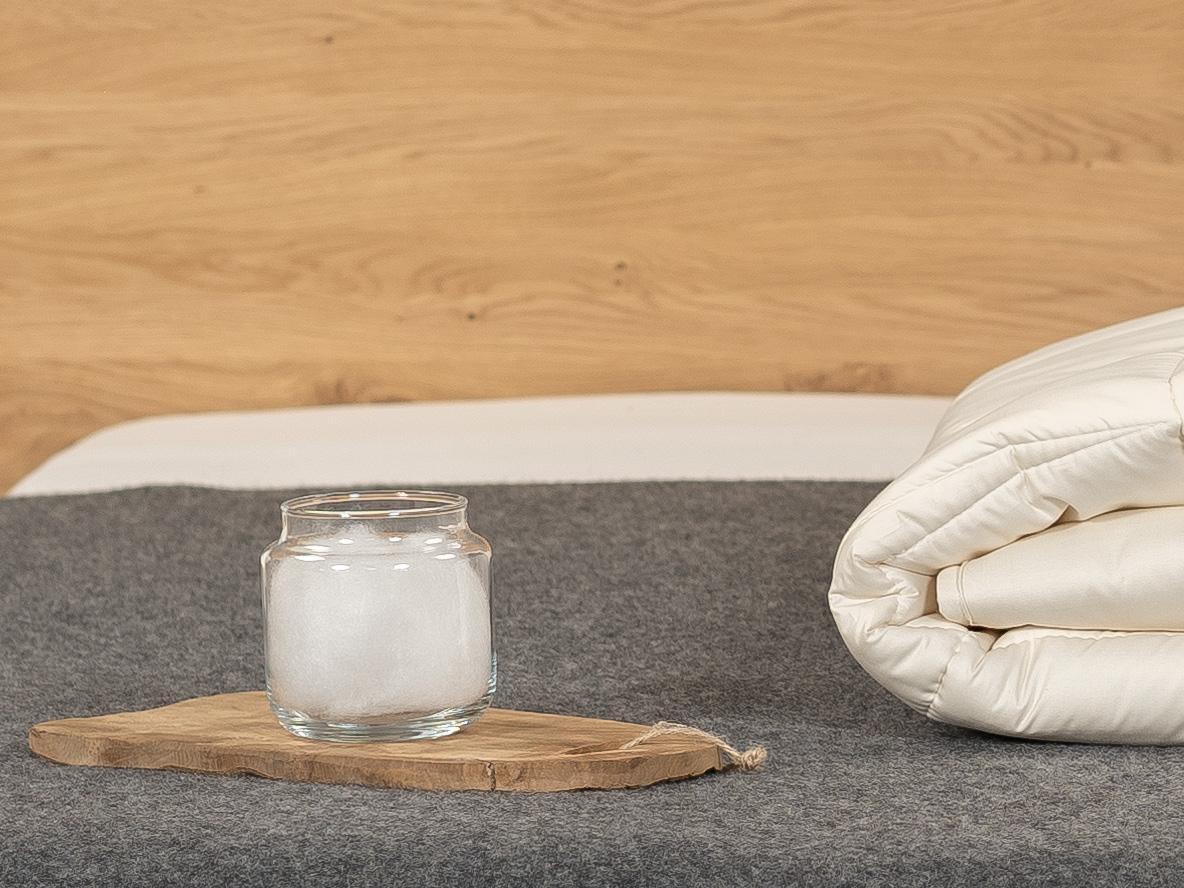 TENCEL™ Faser: kühlend und feuchtigkeitsregulierend.