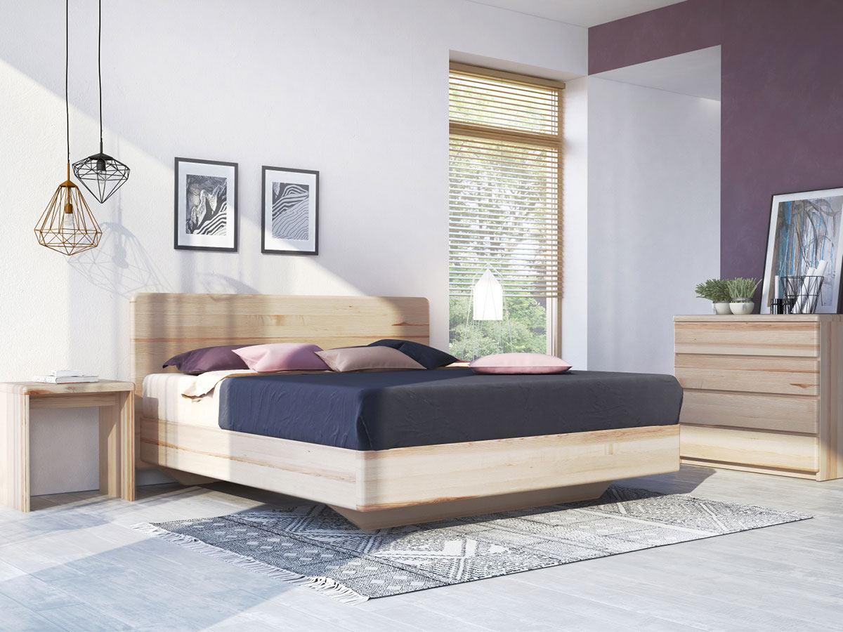 """Eschenschlafzimmer mit Bett """"Valentina"""" Boxspring"""