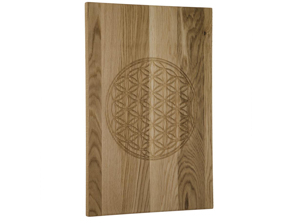 Holzbild aus Eiche 40 x 60 cm