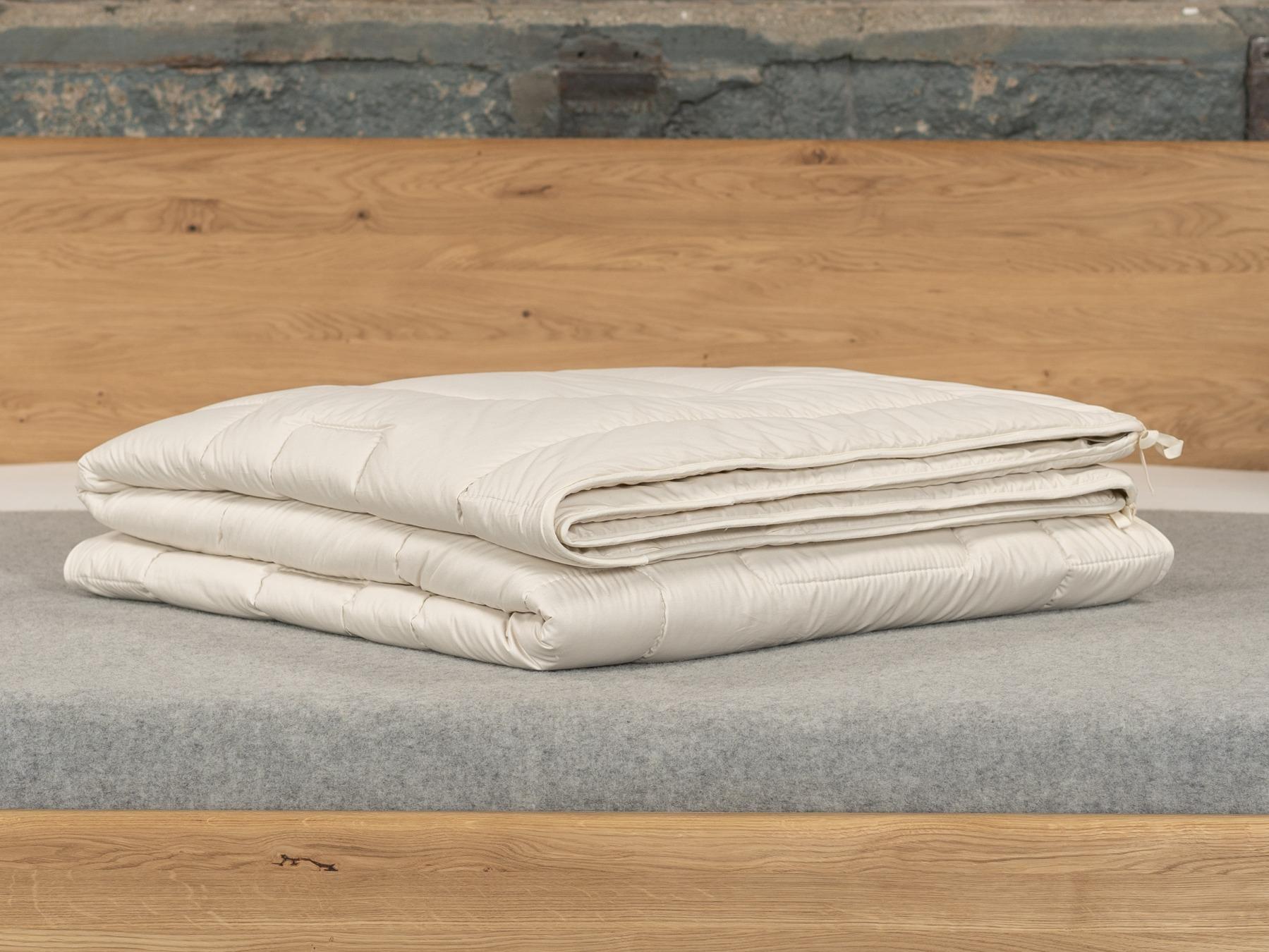 3 Decken – frei kombinierbar für alle Jahreszeiten.
