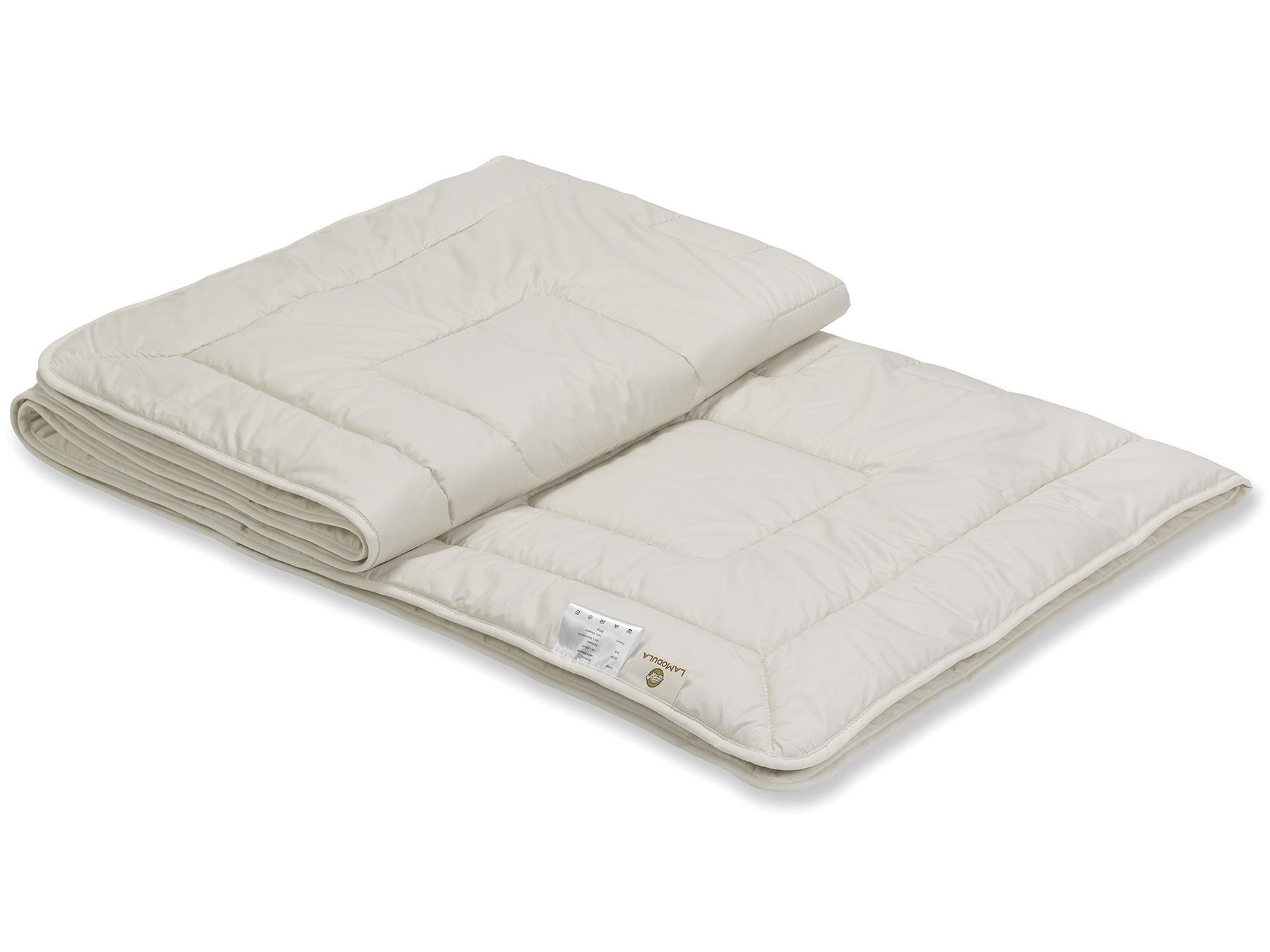 Feinste Tussah-Wildseide sorgt für ein kühles Klima im Bett.