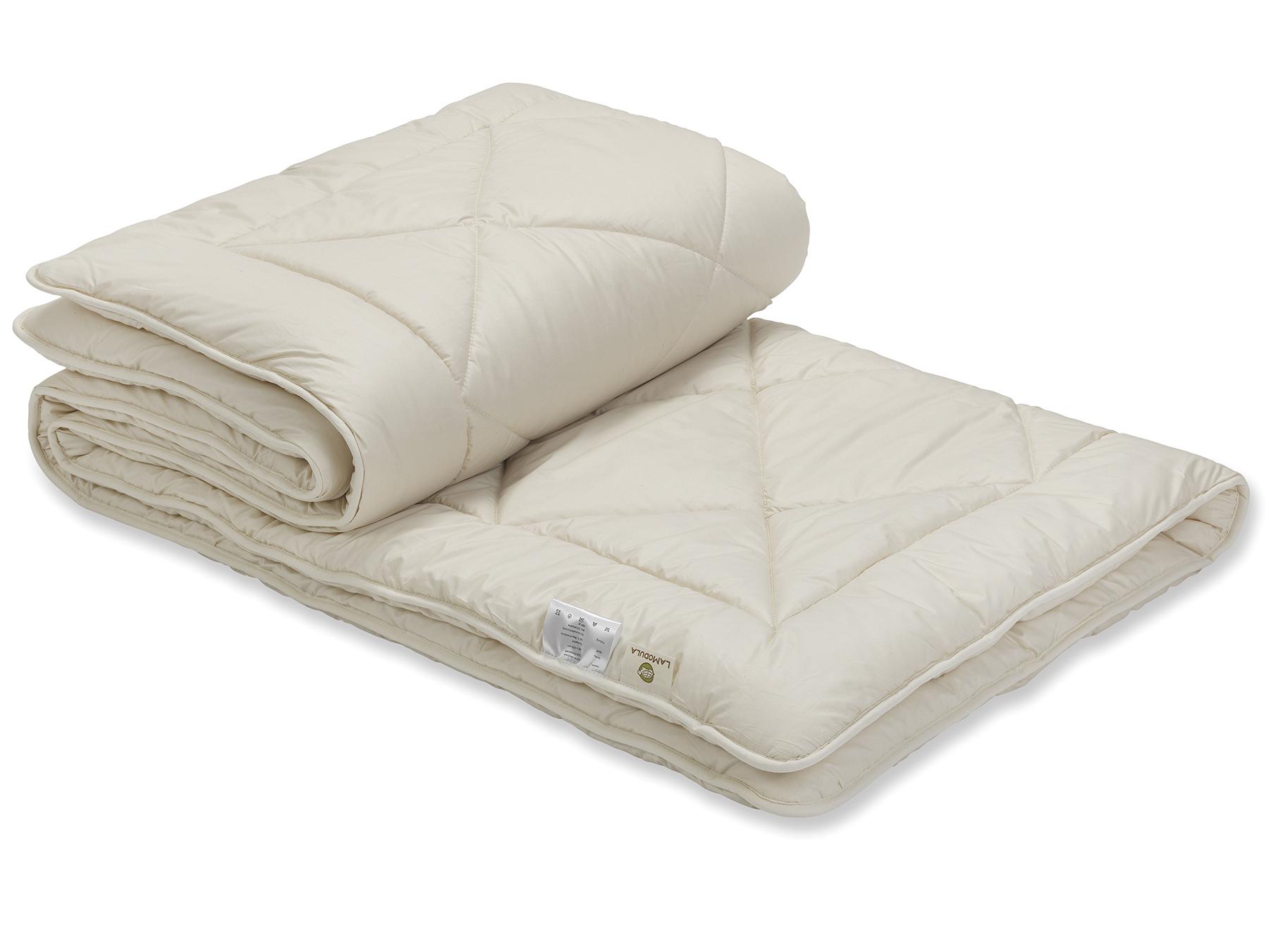 Bei der Duo-Variante sind zwei leichte Decken miteinander versteppt.