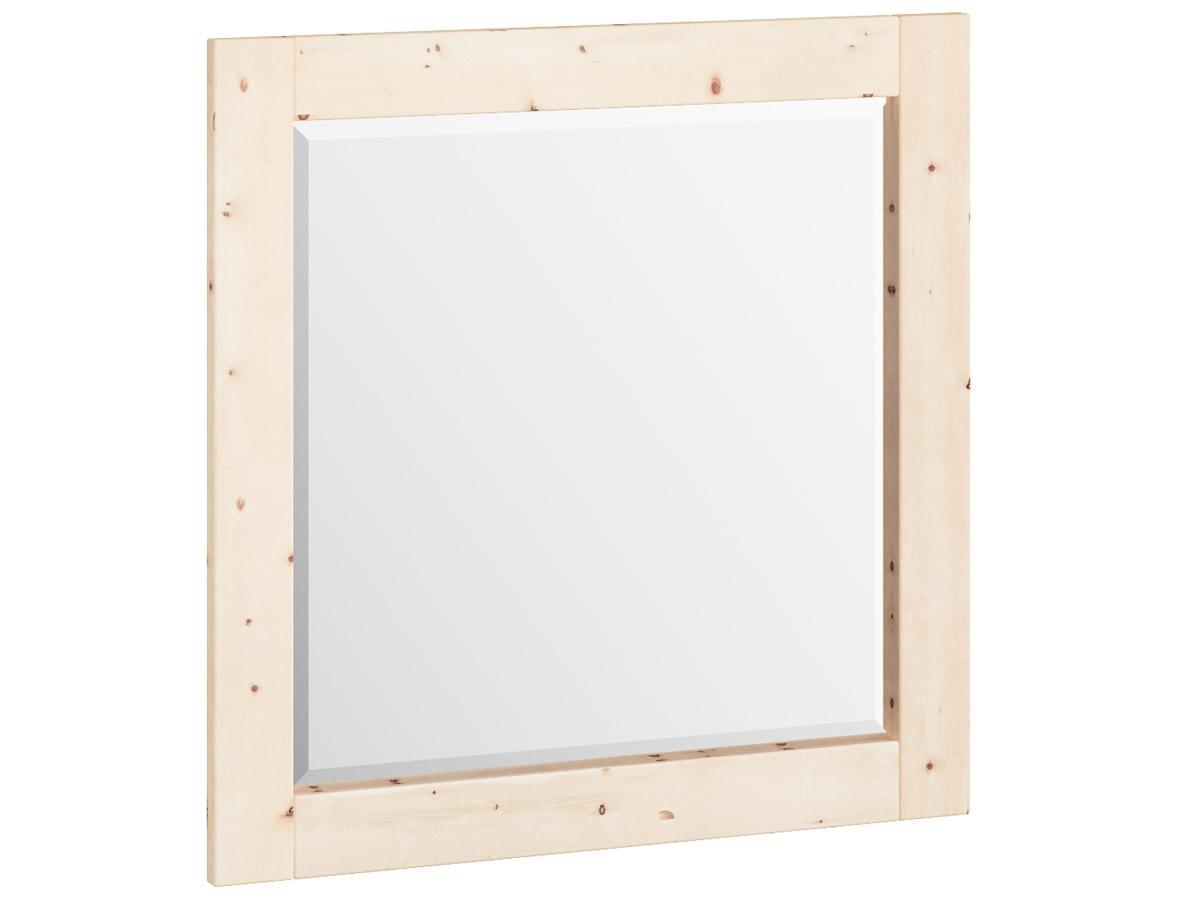 "Zirbenwandspiegel ""Sabrina"" 80 x 80 cm"