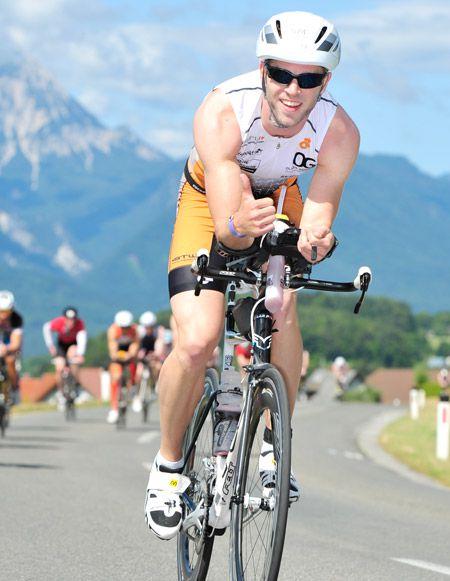 November 2014: LaModula unterstützt den Triathleten Manuel Schnell
