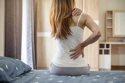Die richtige Matratze bei Rückenschmerzen