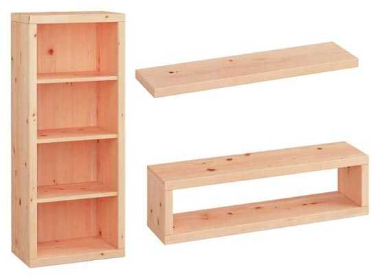 Regale - Bücherregale Zirbenholz