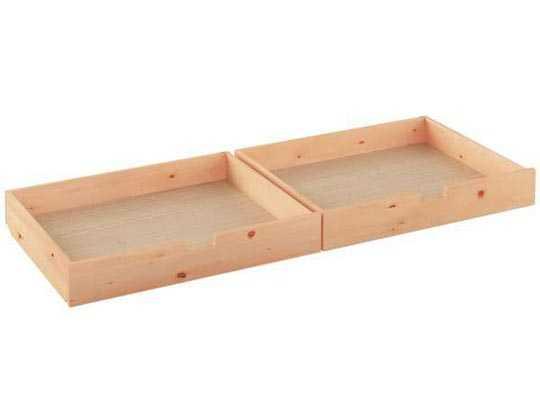 Bettkasten aus Zirbenholz