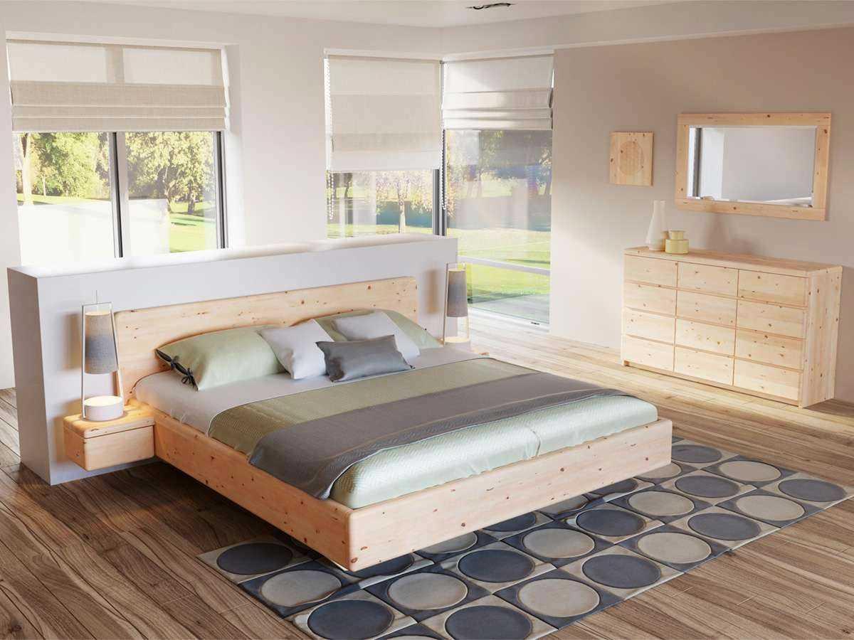 zirbenschlafzimmer – schlafzimmer zirbe, Schlafzimmer entwurf